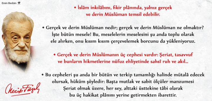 Derin ve Gerçek Müslüman