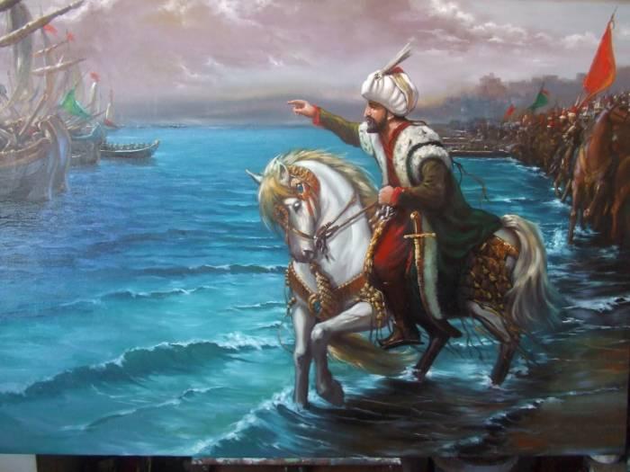 Fatih'in, gemileri niçin karadan yürüttüğünü bilmiyoruz, iyi mi?
