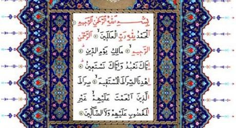 Fatiha Niçin Allah'ın Beş İsmini İhtiva Eder?