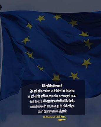 Bil Ey ikinci bozuk Avrupa !