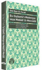 0000000537452-1-181x300 Ebu Nasr el-Farabi - Es-Siyasetü'l-Medeniyye ''Alıntılar''