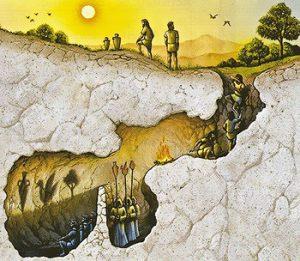 platonic_cave-300x261 Post-Truth ya da Mağaraya Dönüş